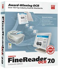 FineReader 7 Corporate Upgrade box
