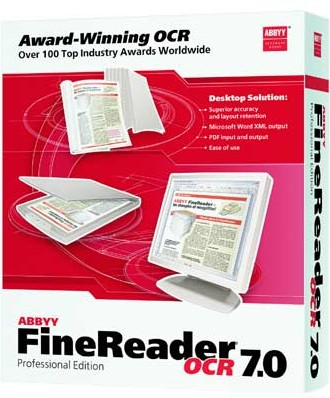 FineReader 7 Pro Educational box
