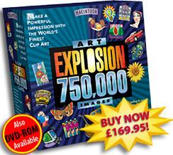 Art Explosion 750,000 MAC CD