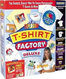 Art Explosion - T-Shirt Factory Deluxe 2, Nova Development - BMSoftware