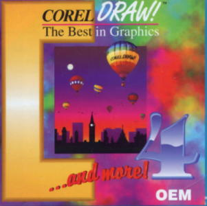 Corel Draw 4 box