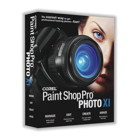 Paint Shop Photo Pro XI box
