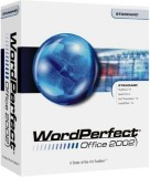 WordPerfect Office 2002 box