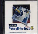 WordPerfect Suite 8 box