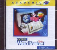 WordPerfect Suite Academic box