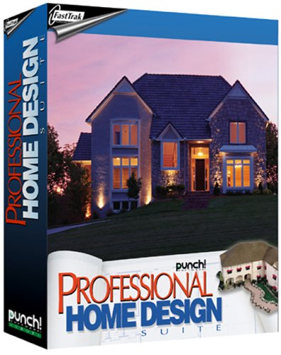 Fasttrak punch professional home design fasttrak software for Punch home design