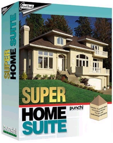 Fasttrak punch super home design suite fasttrak software for Punch home design