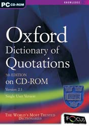Oxford Dictionary of Quotations 5th Edition
