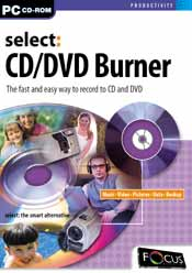Select:CD/DVD Burner