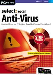Select:eScan Anti-Virus