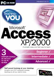 Teaching-you Microsoft Access XP & 2000