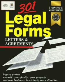 Law PAck 301 Legal Forms