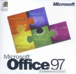 Office 97 Professional box