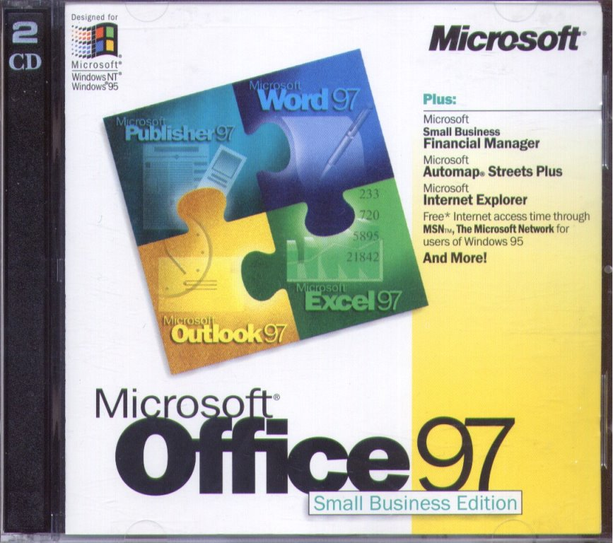 microsoft office 97 small business edition  sbe   word