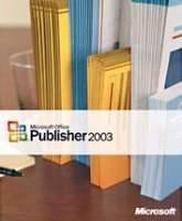 Microsoft Publisher 2003 box
