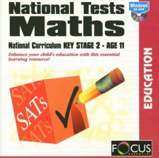 SATS National Tests Maths Key Stage 2   box