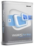 Virtual PC 7 for MAC XP Professional box