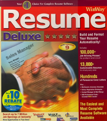 winway resume express edition