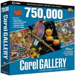Corel Gallery box