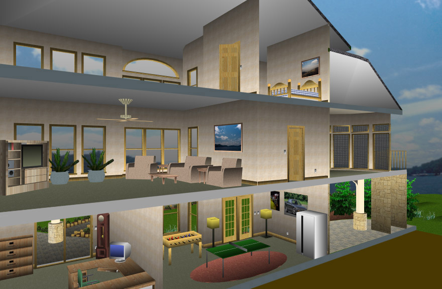 Punch 5 in 1 home design - Home design