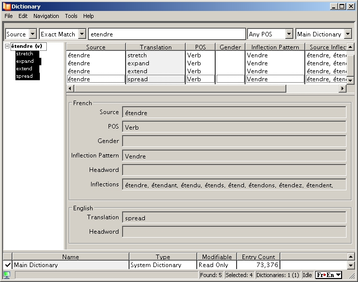 screenshot of Power Translator